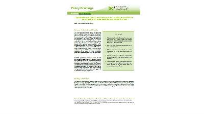 BC3 Policy Briefing Series