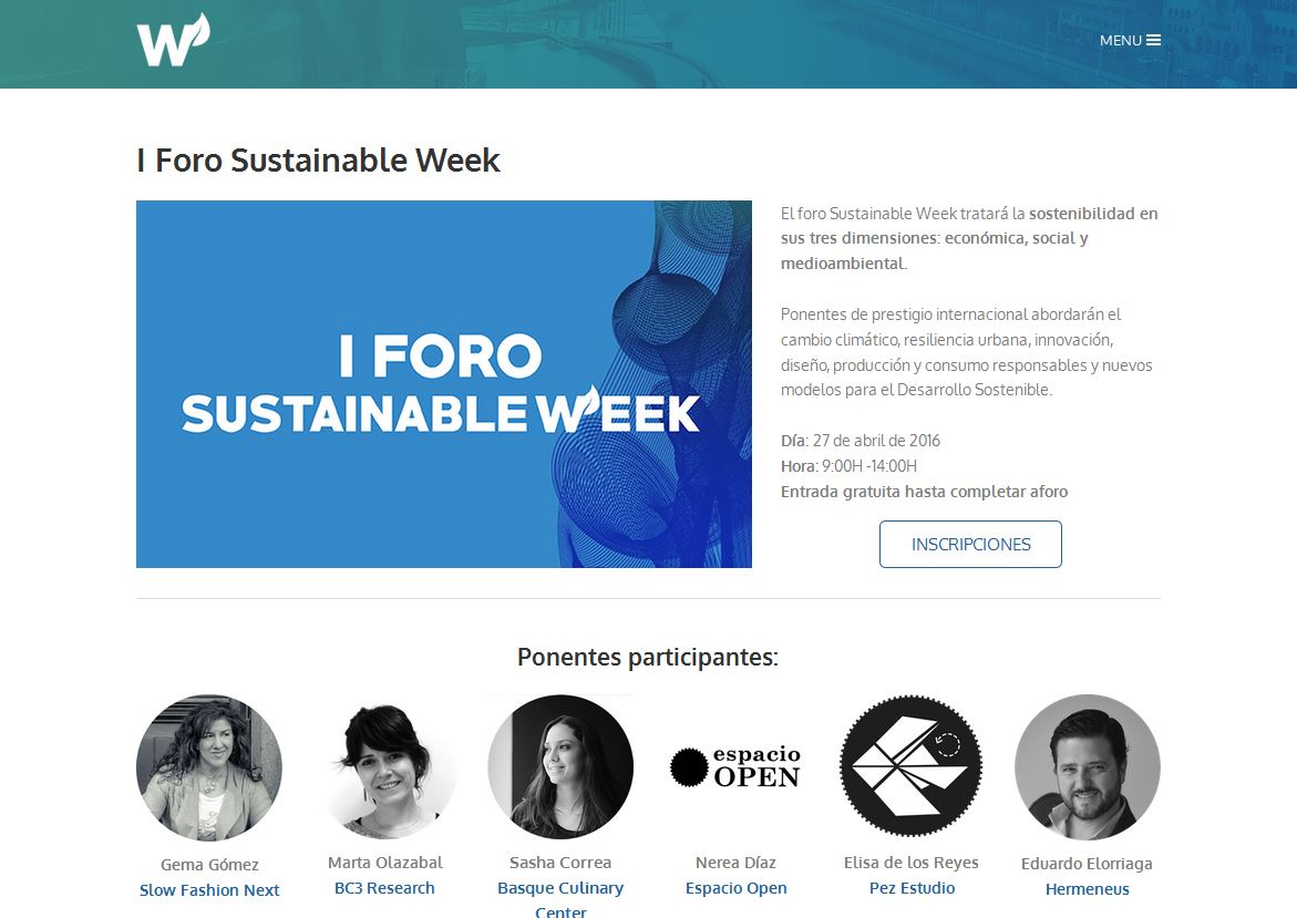 Sustainable Week_II