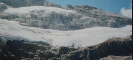 Glaciar Monte Perdido